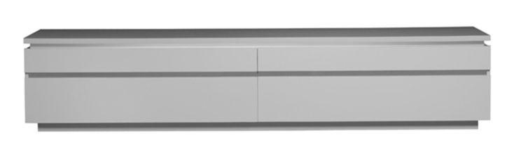 impressionnant meuble tv hifi blanc Décoration française Pinterest