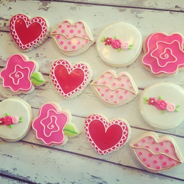 Head Over To Our Etsy Page To Snag All Your Valentines Cookie Sets! Search  For