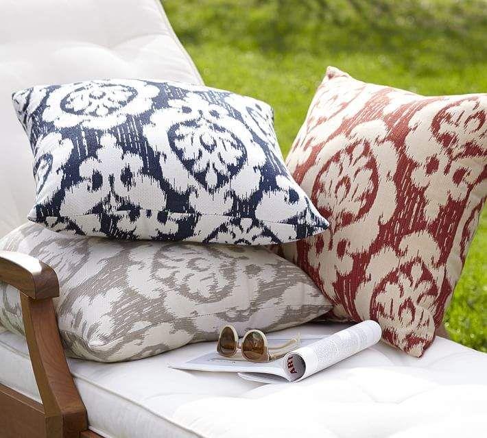 Sunbrella Devin Ikat Indoor Outdoor Pillow In 2018 Products