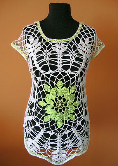 www.polandhandmade.pl, #polandhandmade , #tunic, #crochet