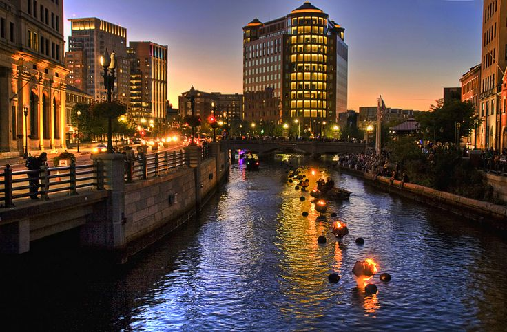 Providence WaterFire one of the top 25 things to do in Rhode Island listed by The Crazy Tourist