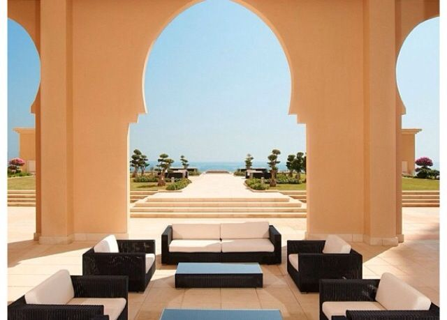 St. Regis, Doha Qatar | #entrance #hotel #architecture #architect #lounge