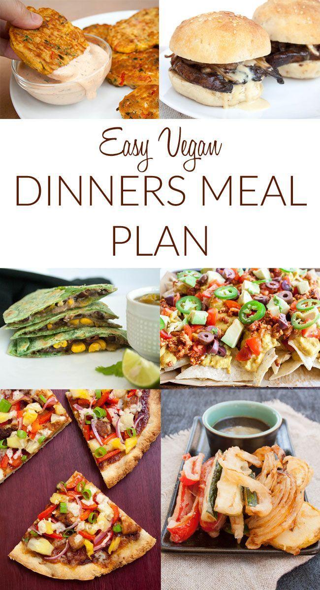 Free Meal Planning App That Saves You Time Vegetarian Recipes Easy Vegan Meal Plans Vegan Dinner Recipes