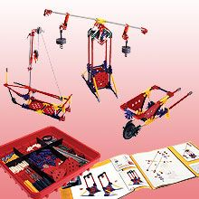 K'NEX Education: Intro to Simple Machines: Levers and Pulleys can be used as materials for students to practice building simple machines, great for kinesthetic learners.
