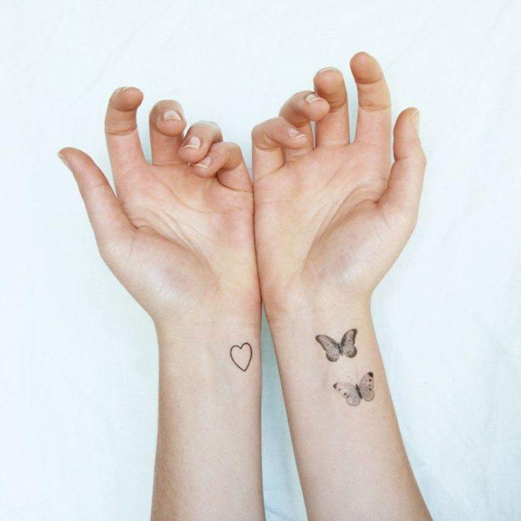 kleine tattoos gro e wirkung 100 zauberhafte motive zur. Black Bedroom Furniture Sets. Home Design Ideas