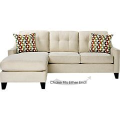 Place vanilla 2 pc sleeper sectional from sleeper sectionals furniture