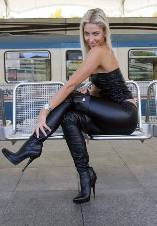 Two blonde femdom mistresses torment bound male slave 6