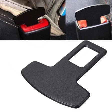 Free Shipping. Buy Useful Universal Car Accessories Safety Seat Belt Buckle Alarm Stopper Eliminator Clip at Walmart.com