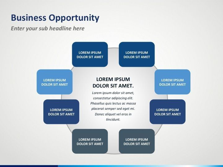Business Opportunity PowerPoint Template.