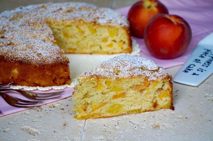 Torta+Facile+alle+Pesche
