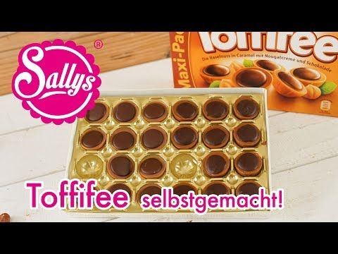Toffifee selber herstellen / mit Nougat gefüllte Karamellbonbons / nachgemacht - YouTube