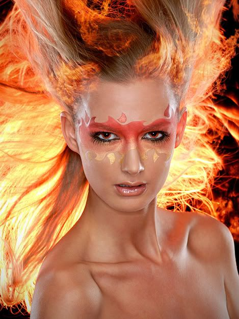 First shoot using airbrush! in Makeup Artist, Hairstylist, and Fashion Stylist Forum Forum