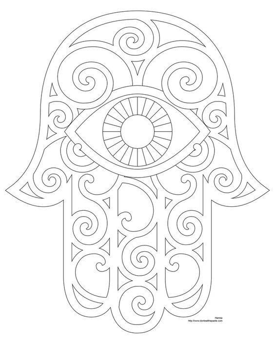 El Hamsa o la mano de Fátima es un amuleto muy popular en Oriente medio y zonas de África. Una palmera que se representa con la mano abierta. Se cree el Hamsa es un eficaz amuleto protector contra el mal de ojo y llevarlo atrae la buena suerte.: