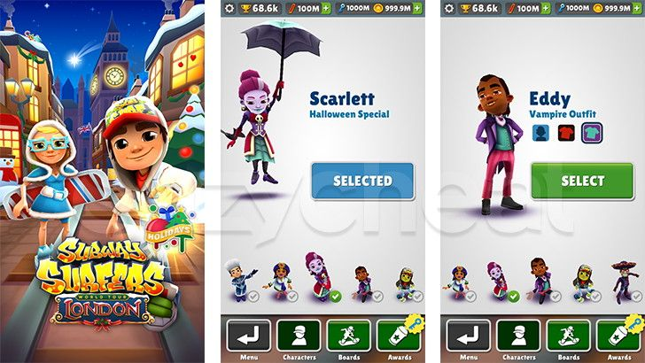 40d11333d973211fcd56aa07e1bb8cdb - How To Get All The Characters In Subway Surfers