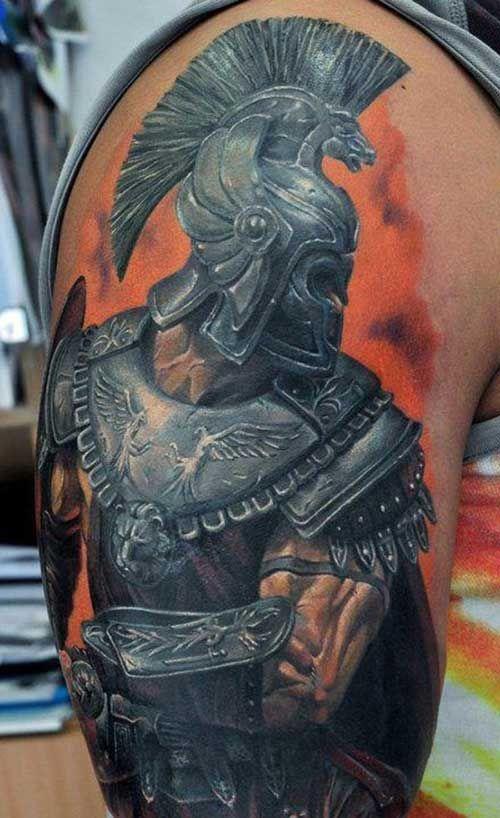 20 Photos Guerriers Meanings De Tatouages Tattoo Pinterest