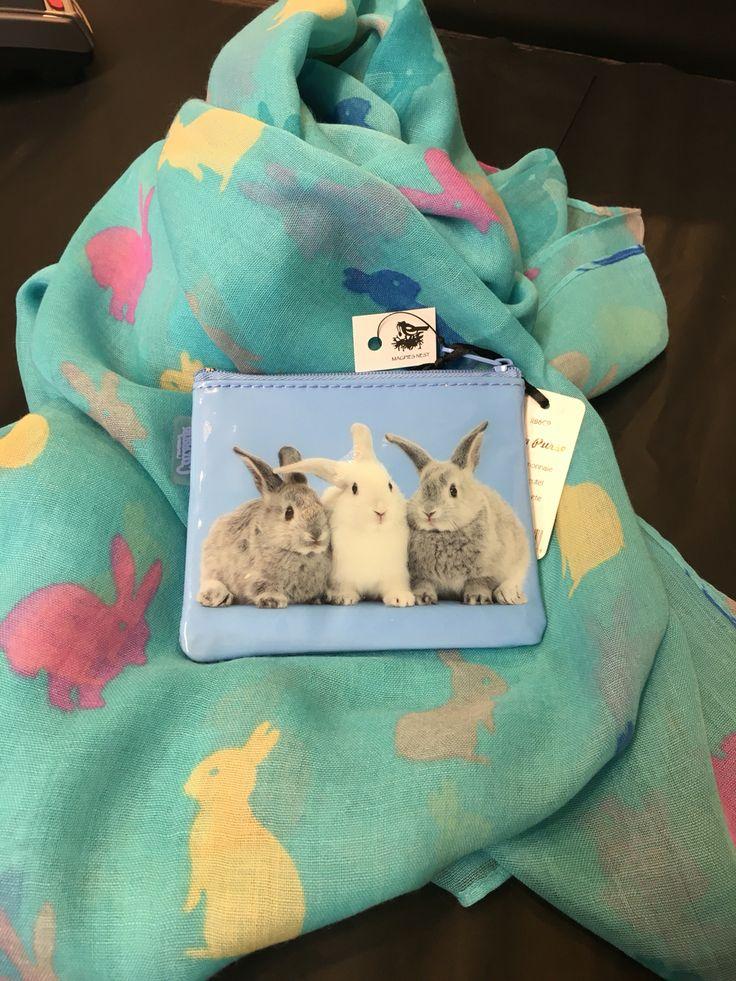 Blue bunny gift ideas.