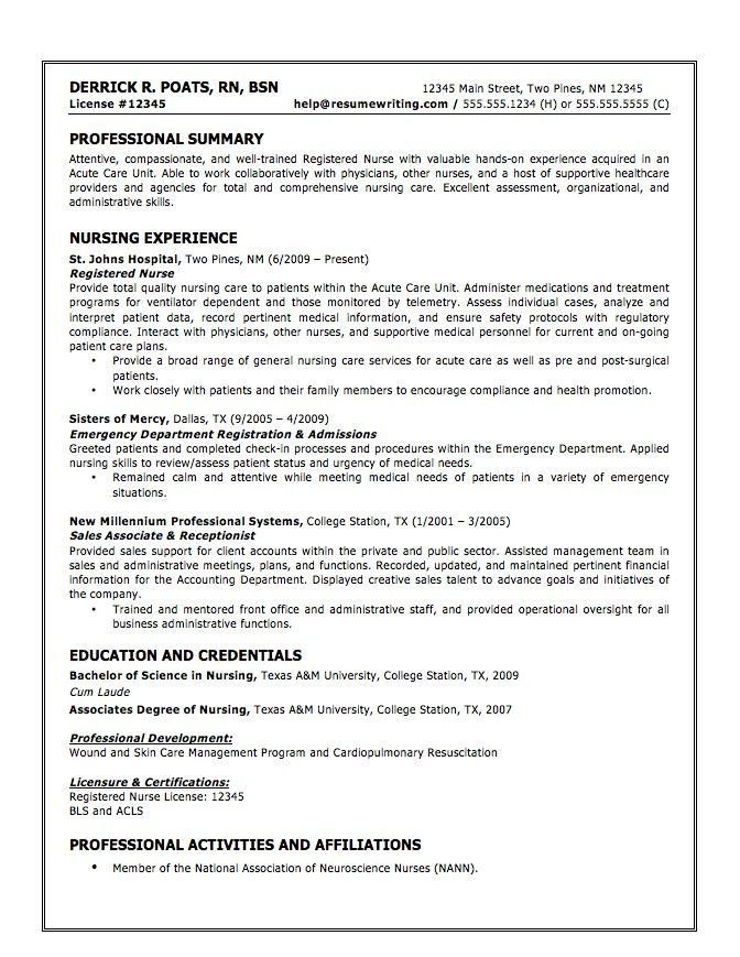 cna resume samples resumes template sample for new graduates