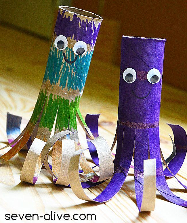 Paper Towel Roll Octopus with Viva® Vantage