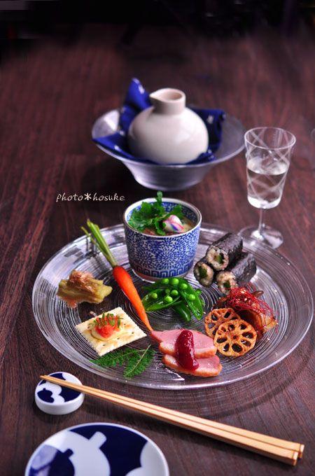 「冷やし茶碗蒸しの前菜」                                                                                                                                                                                 もっと見る