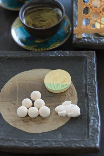 moon-viewing dumplings