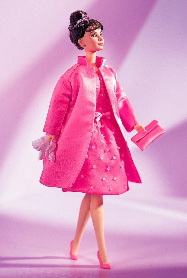 Audrey Hepburn - Breakfast at Tiffany's Pink Barbie