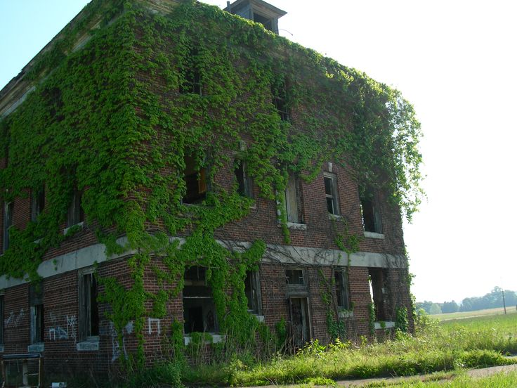 Formerly The Lakin State Hospital For Insane Abandoned In Point Pleasant Wv