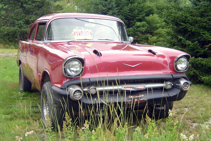 Made for Boggin': 1957 Chevy Bel Air - http://barnfinds.com/made-for-boggin-1957-chevy-bel-air/