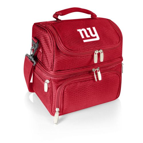 NFL Collectibles - Pranzo Lunch Tote (New York Giants) Digital Print - Red