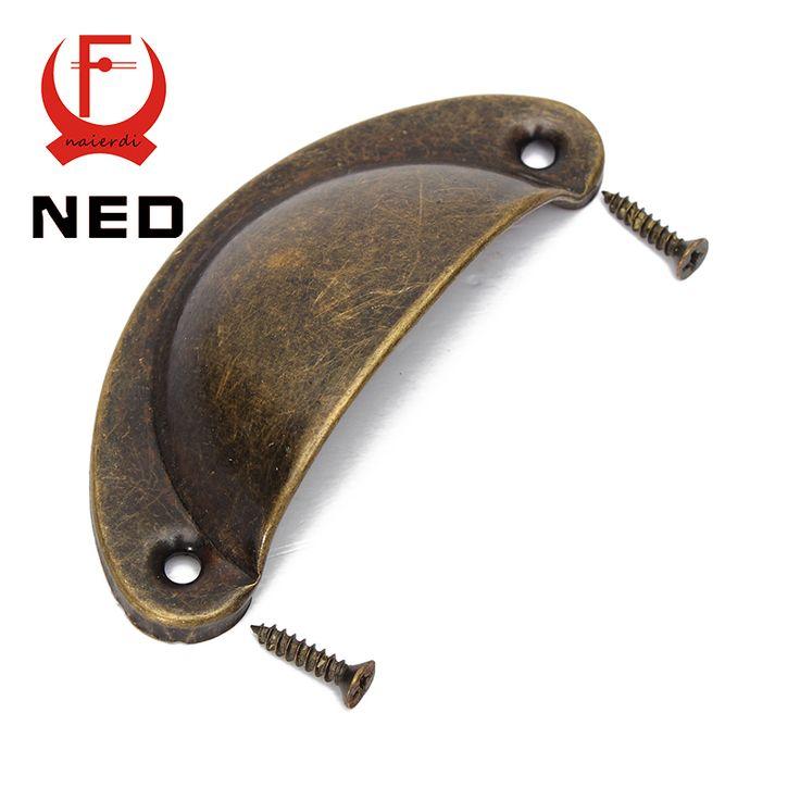 $0.98 (Buy here: https://alitems.com/g/1e8d114494ebda23ff8b16525dc3e8/?i=5&ulp=https%3A%2F%2Fwww.aliexpress.com%2Fitem%2FNED-2PCS-Retro-Metal-Kitchen-Drawer-Cabinet-Door-Handle-And-Furniture-Knobs-Handware-Cupboard-Antique-Brass%2F32567861007.html ) NED 2PCS Retro Metal Kitchen Drawer Cabinet Door Handle And Furniture Knobs Handware Cupboard Antique Brass Shell Pull Handles for just $0.98