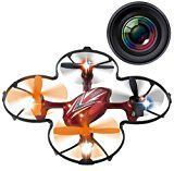 Haktoys Mini RC Drone with Camera 2.4GHz 6-Axis Gyro http://dronedreams.info/haktoys-hak904c-mini-rc-quadcopter-drone-with-camera-2-4ghz-6-axis-gyro-bonus-4-blades-included-colors-may-vary/