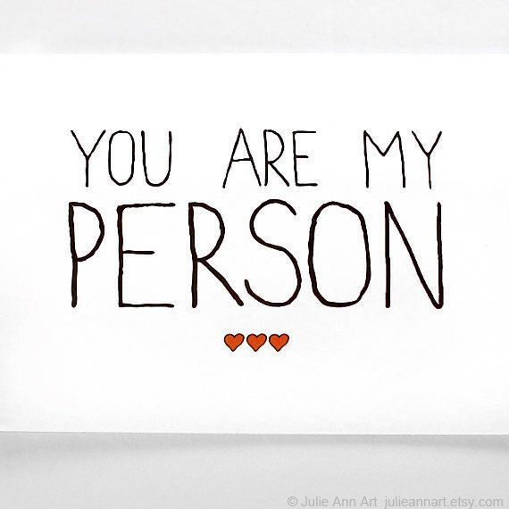 Valentines Card You Are My Person Black with Red by JulieAnnArt, $4.00                                                 youtube to mp3
