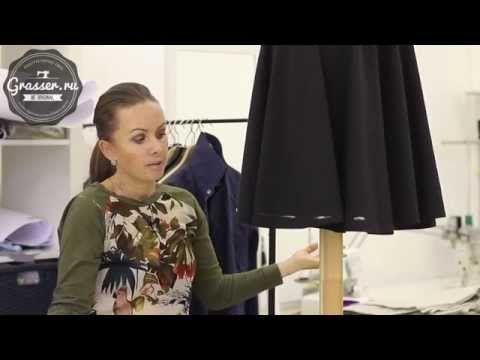 Выравнивание низа изделия. Открытые онлайн уроки шитья. Школа GRASSER - YouTube