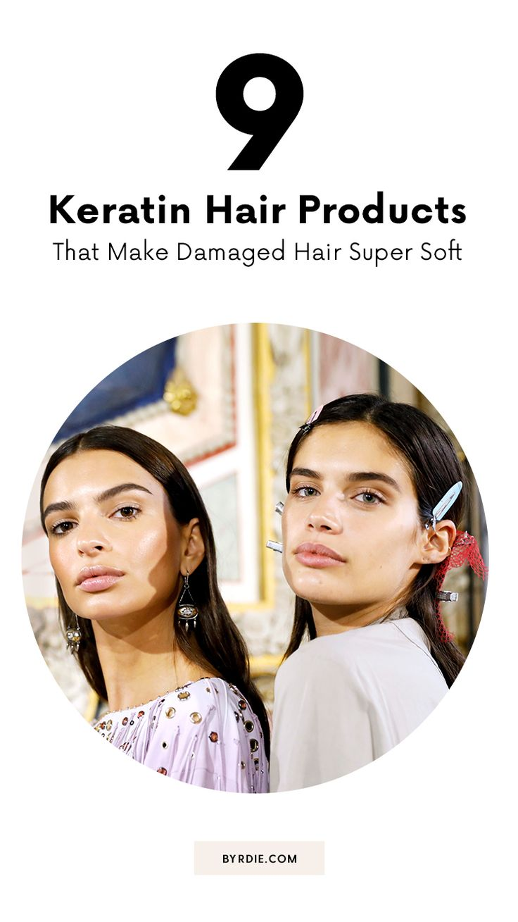 The best keratin hair products