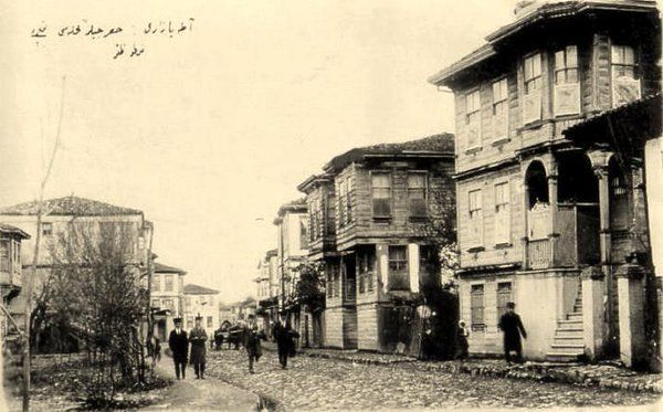 ADAPAZARI 1920'ler..Hasırcılar caddesi...