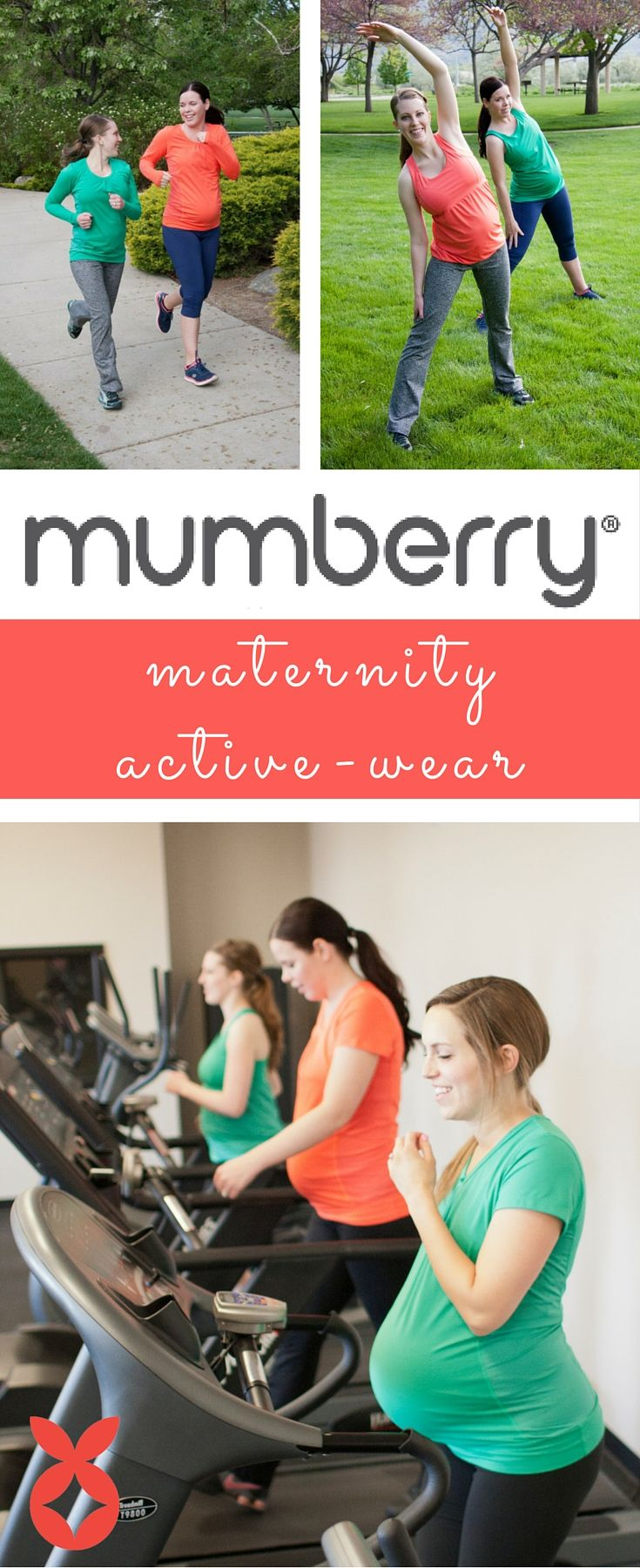 Save yourself some back pain with Mumberry maternity activewear- for mums who MOVE! Go to Mumberry.com to see the entire collection!