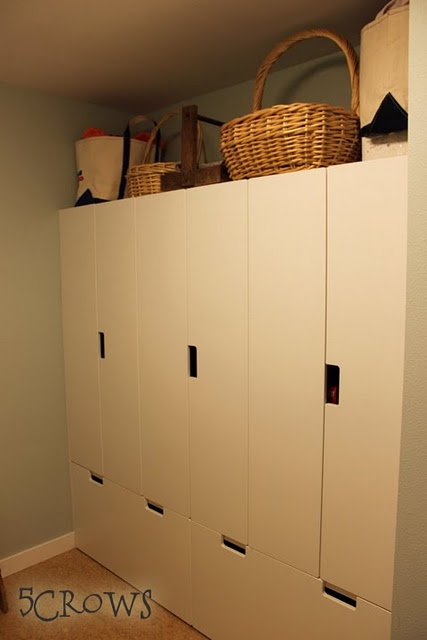stuva pantry - this would work for a garage pantry