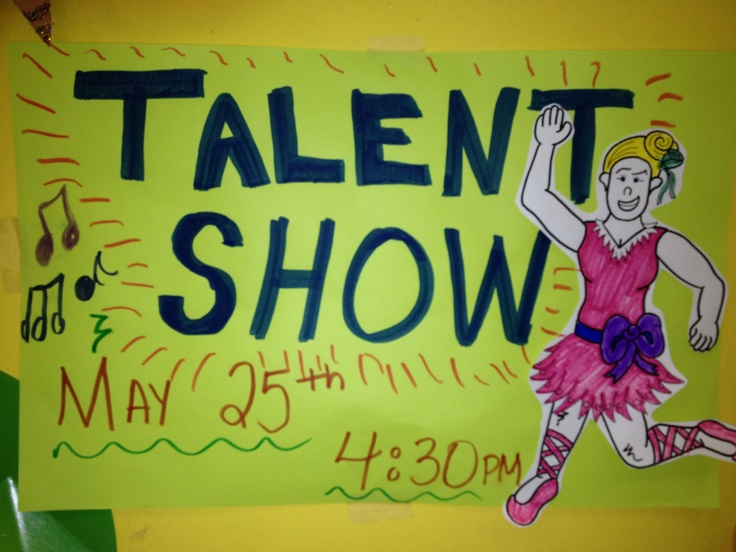77 best Talent show images on Pinterest Talent show, 5th grades - talent show flyer