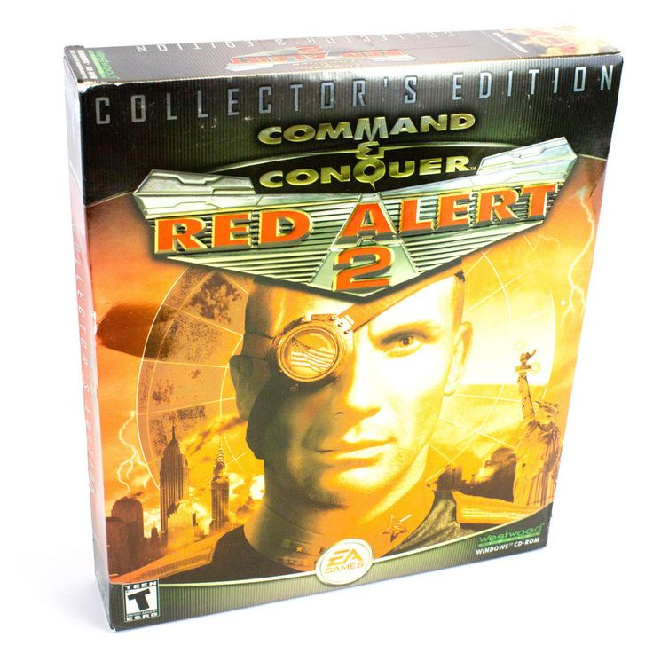 Command & Conquer Red Alert 2: Collectors Edition for PC CD-ROM - Sealed - BNIB