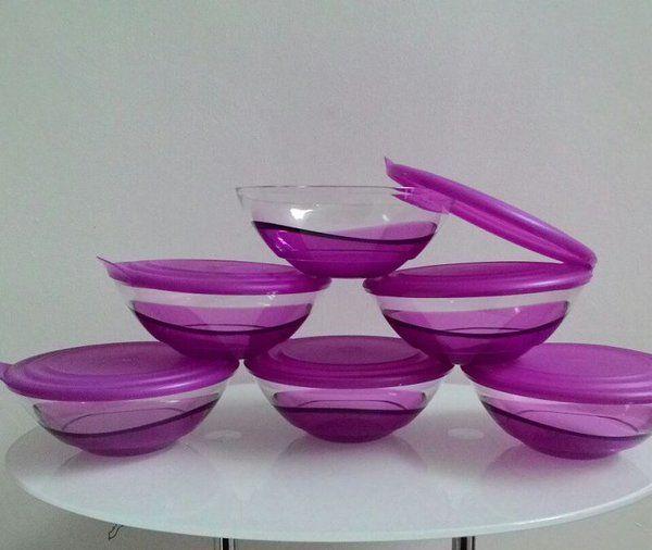 Mangkok Cantik Eleganzia Bowl Tupperware (6 Pcs)