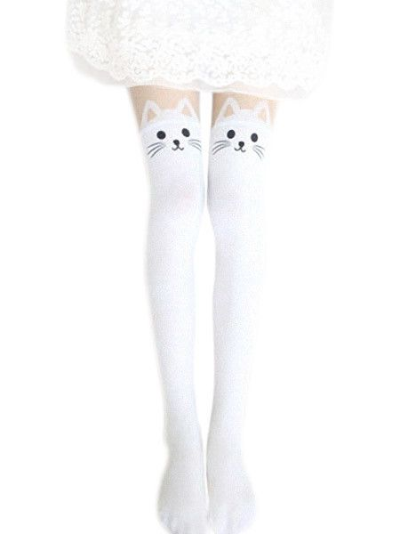 Buy 2 Kitty Tights Black and White & Save $4.00 – Anarchicfashion.com