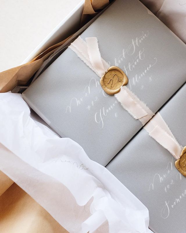 Special Delivery Love Packaging And My Custom Tissue From Noissueco Michaelamcbrid Fun Wedding Invitations Wedding Invitations Cheap Wedding Invitations