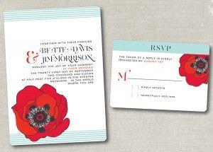 Fresh Alert: Mint Green + Poppy Red Wedding Inspiration | Peony Events
