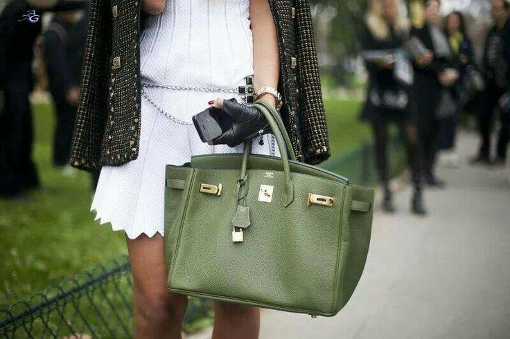 The Hermes Birkin - Green on Pinterest | Birkin Bags, Hermes and ...