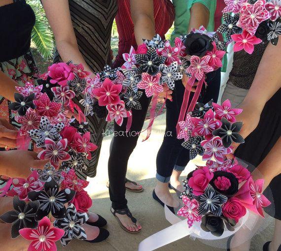 Dama de honor... Flores ramo novia /Bridal de por kreationsbykia