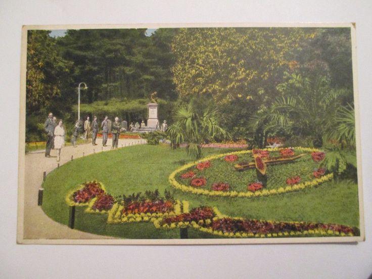 Městský park 1938