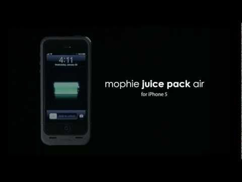 Mophie Juice Pack for iPhone 5. This case doubles battery life.