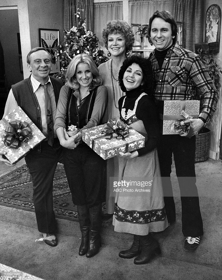 """Three's Company"", December 20, 1977. (Photo by ABC Photo Archives/ABC via Getty Images)"