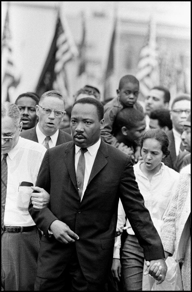 Martin Luther King et la marche de Selma vus par les photographes de Magnum