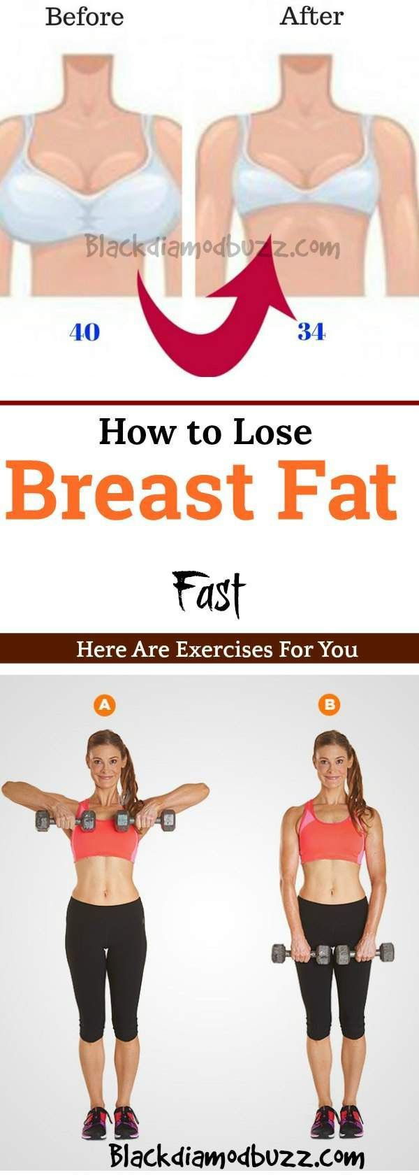 exercise for weight loss of breast