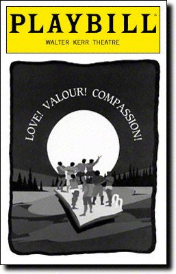 Love! Valour! Compassion! Playbill Covers